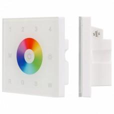 Панель-регулятора цвета RGBW сенсорная встраиваемая Arlight Sens SMART-P2-DMX (90-240V, 2.4G)