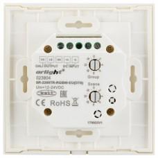 Панель-регулятора цвета RGBW сенсорная встраиваемая Arlight Sens SR-2300TR-DT8-G4-IN White (DALI, RGBW)