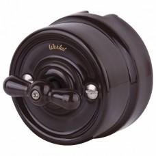 Переключатель одноклавишный без рамки Werkel Retro WL18-01-03