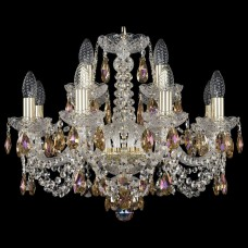 Подвесная люстра Bohemia Art Classic 11.11 11.11.8+4.195.Gd.Sp.K777