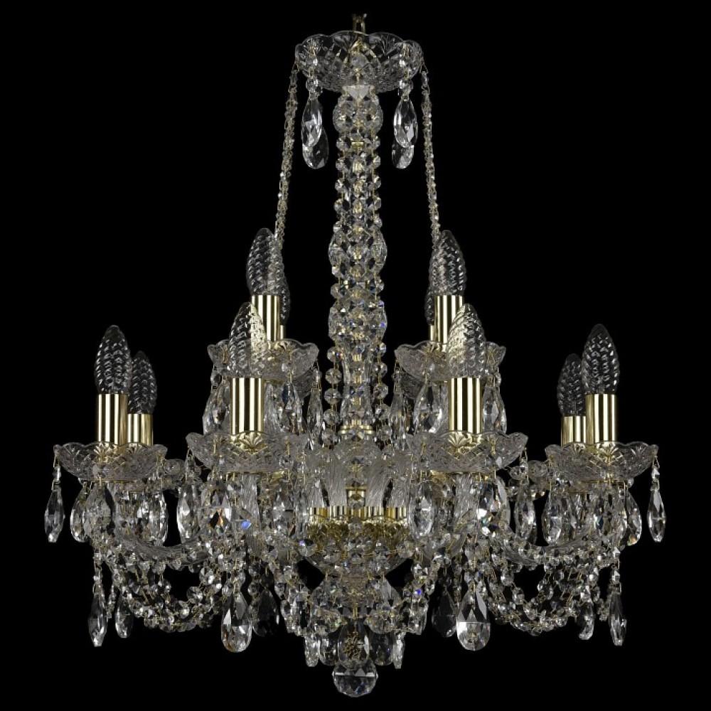Подвесная люстра Bohemia Art Classic 11.11 11.11.8+4.195.h-63.Gd.Sp