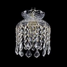Подвесной светильник Bohemia Ivele Crystal 1478 14781/15 G Leafs