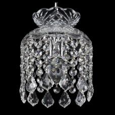 Подвесной светильник Bohemia Ivele Crystal 1478 14781/15 Ni Leafs