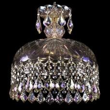 Подвесной светильник Bohemia Ivele Crystal 1478 14781/30 G Leafs M801