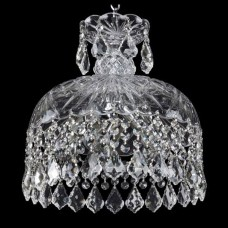 Подвесной светильник Bohemia Ivele Crystal 1478 14781/30 Ni Leafs