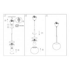 Подвесной светильник Globo Balla 1583