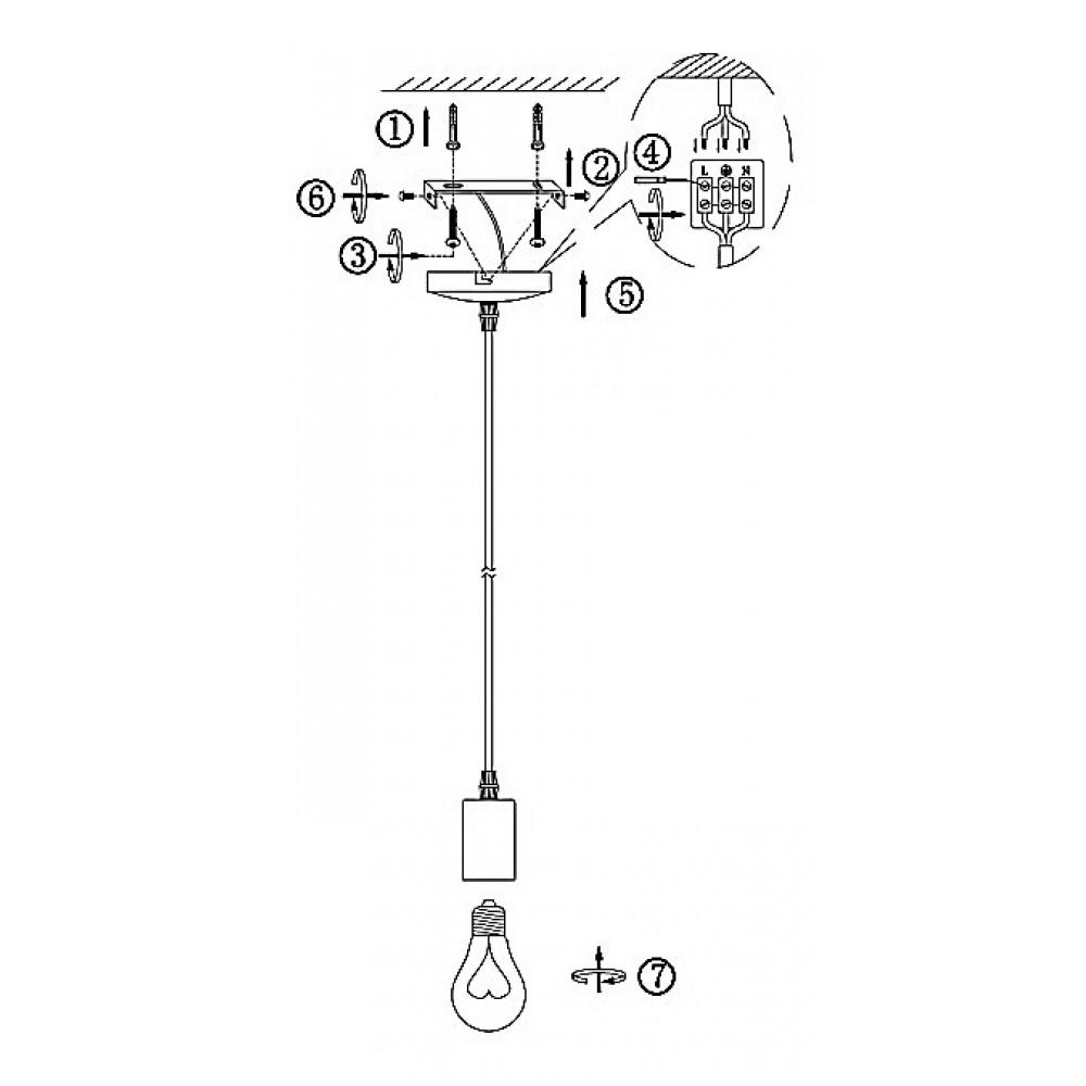 Подвесной светильник Globo Noel A13