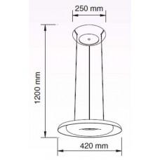 Подвесной светильник Horoz Electric Deluxe HRZ00002265