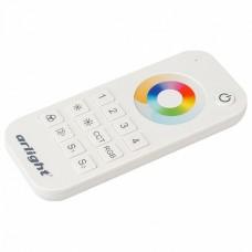 Пульт-регулятора цвета RGBW с сенсорным кольцом Arlight SMART-R SMART-R20-MULTI White (4 зоны, 2.4G)