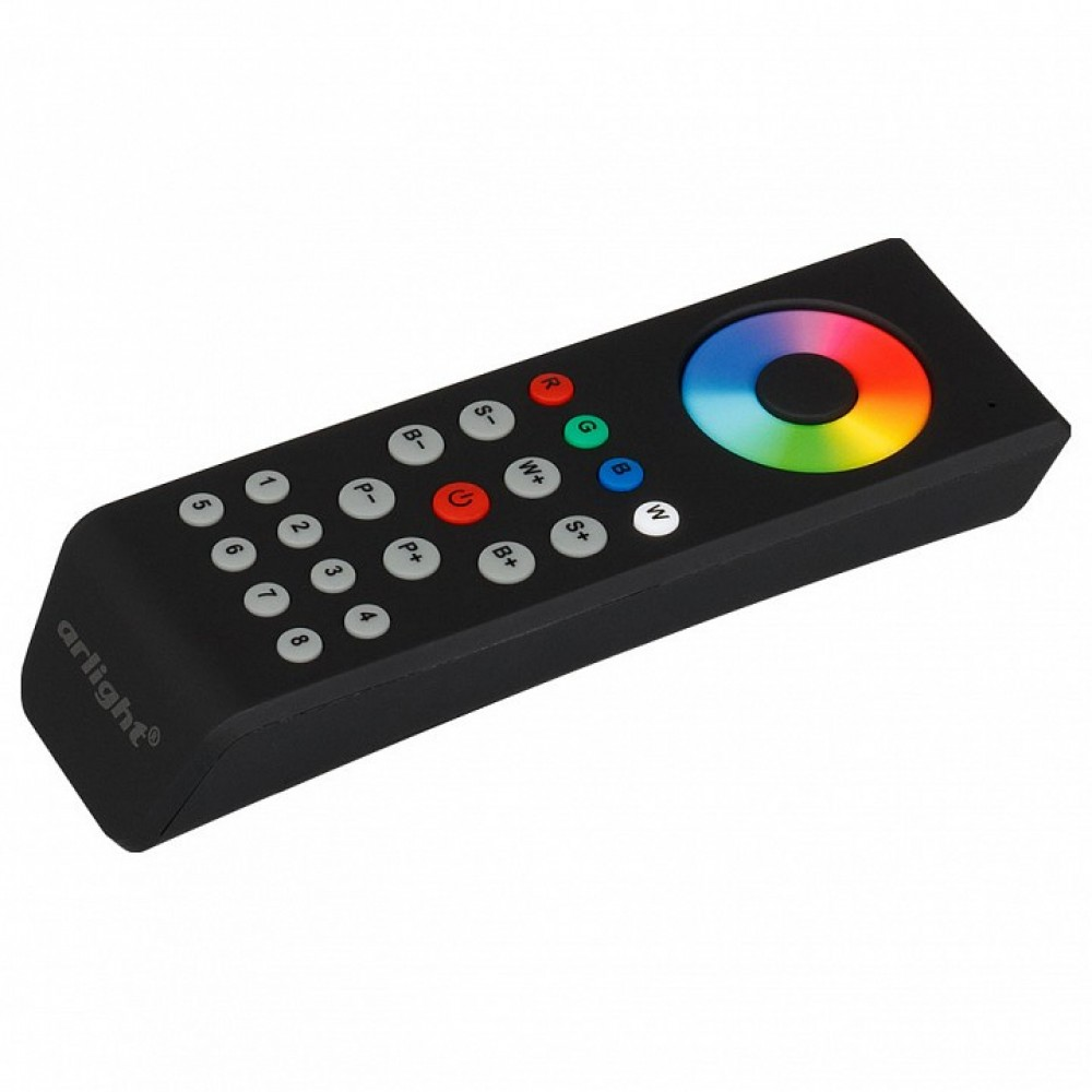 Пульт-регулятора цвета RGBW с сенсорным кольцом Arlight SR-2819 SR-2819T8 Black (RGBW 8 зон)