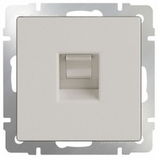 Розетка Ethernet RJ-45 без рамки Werkel Слоновая кость WL03-RJ-45-ivory