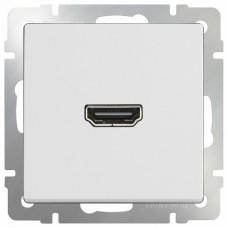 Розетка HDMI без рамки Werkel Белый WL01-60-11