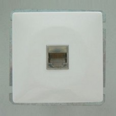 Розетка двойная Ethernet RJ-45 без рамки Imex 1611L 1611L-S100