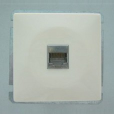 Розетка двойная Ethernet RJ-45 без рамки Imex 1611L 1611L-S110