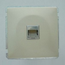 Розетка двойная Ethernet RJ-45 без рамки Imex 1611L 1611L-S320