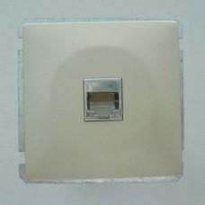 Розетка двойная Ethernet RJ-45 без рамки Imex 1611L 1611L-S340