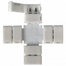 Соединитель лент X-образный жесткий Elektrostandard LED 2X a038803