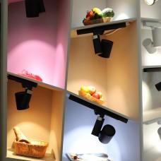 Светильник на штанге Arlight Lgd-Shop LGD-SHOP-4TR-R100-40W Warm SP3000-Fruit (BK, 24 deg)