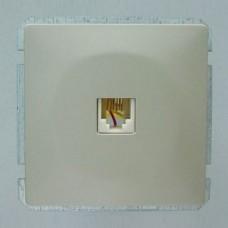 ТВ-розетка оконечная без рамки Imex 1413L 1413L-S320