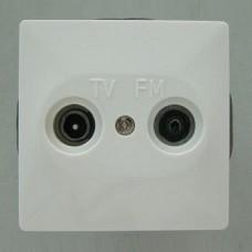 ТВ-розетка оконечная без рамки Imex 1512L 1512L-S100