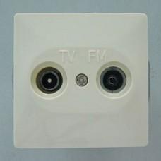ТВ-розетка оконечная без рамки Imex 1512L 1512L-S110