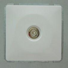 ТВ-розетка оконечная без рамки Imex 1513L 1513L-S100