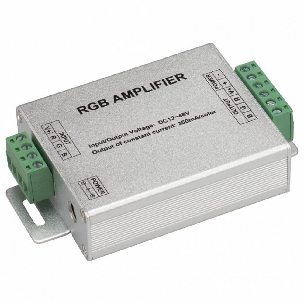 Усилитель RGB Arlight LN-350 LN-350 (12-48V, 3x350mA, 50W)