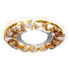 Встраиваемый светильник Ambrella Crystal 1 S230 BR