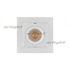 Встраиваемый светильник Arlight CL-KARDAN-S102x102-9W White (WH, 38 deg)