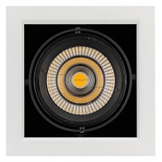 Встраиваемый светильник Arlight CL-KARDAN-S190x190-25W Warm3000 (WH-BK, 30 deg) 024985