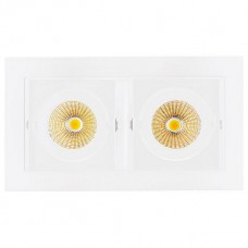 Встраиваемый светильник Arlight Cl-kardan CL-KARDAN-S180x102-2x9W Warm (WH, 38 deg)