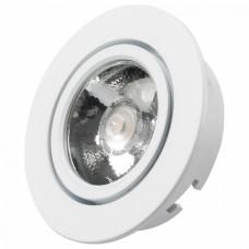 Встраиваемый светильник Arlight Ltm-r65 Ltm-r65WH 5W White 10deg