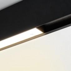 Встраиваемый светильник Arlight MAG-FLAT-45-L805-24W Warm3000 (BK, 100 deg, 24V) 026958