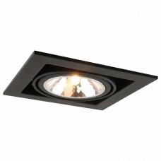 Встраиваемый светильник Arte Lamp Cardani A5949PL-1BK