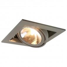 Встраиваемый светильник Arte Lamp Cardani A5949PL-1GY