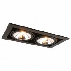 Встраиваемый светильник Arte Lamp Cardani A5949PL-2BK