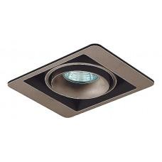 Встраиваемый светильник Donolux DL18615 DL18615/01WW-SQ Champagne/Black