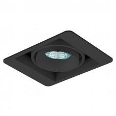 Встраиваемый светильник Donolux DL18615 DL18615/01WW-SQ Shiny black/Black