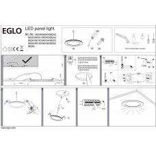 Встраиваемый светильник Eglo ПРОМО Fueva 1 96055