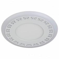 Встраиваемый светильник Эра DK LD12 DK LED 12-6 BL