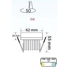 Встраиваемый светильник Horoz Electric 016-040 HRZ00002308