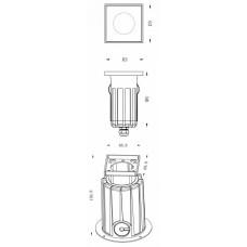 Встраиваемый в дорогу светильник Deko-Light NC COB I 730438