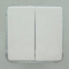 Выключатель двухклавишный без рамки Imex 1122L 1122L-S100