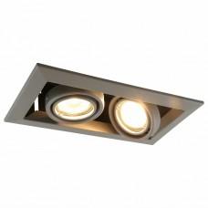 Встраиваемый светильник Arte Lamp A5941 A5941PL-2GY