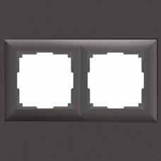 Рамка на 2 поста Werkel WL14 WL14-Frame-02 (Серо-коричневый)