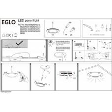 Встраиваемый светильник Eglo ПРОМО Fueva 1 96163