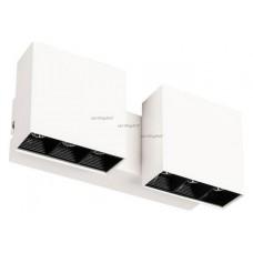 Накладной светильник Arlight SP-LEGACY-S200x85-2x6W Warm3000 (WH, 16 deg) 028133