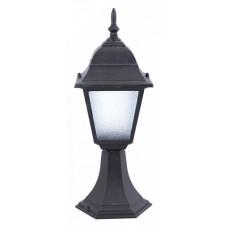 Наземный низкий светильник Arte Lamp Bremen A1014FN-1BK