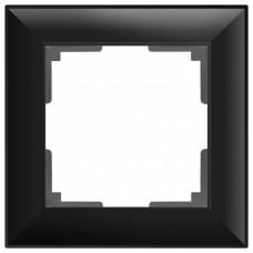 Рамка на 1 пост Werkel WL14 WL14-Frame-01 (Черный)