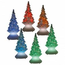 Ель световая [10 см] Uniel ULD ULD-F620 RGB XMAS TREE SET12